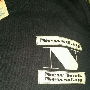 Classic New York Newsday crew neck
